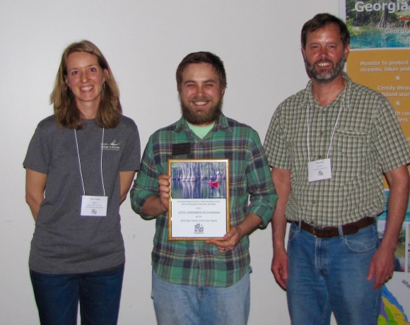 OGEECHEE RIVERKEEPER'S WATERSHED OUTREACH COORDINATOR RECEIVES PRESTIGIOUS ENVIRONMENTAL AWARD