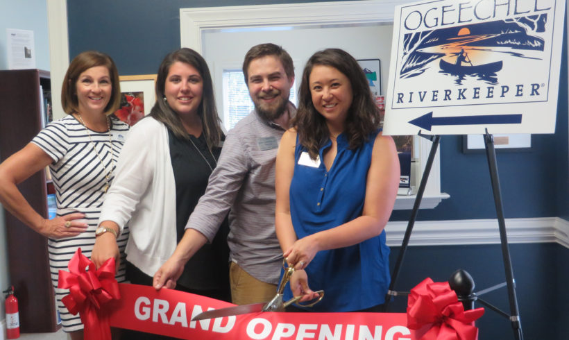 WTOC | Ogeechee Riverkeeper holds Ribbon Cutting