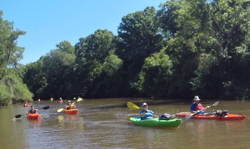 """OGEECHEE RIVERKEEPER ANNOUNCES """"POWER THE PADDLE"""" A PADDLE TRIP FUNDRAISING CAMPAIGN"""