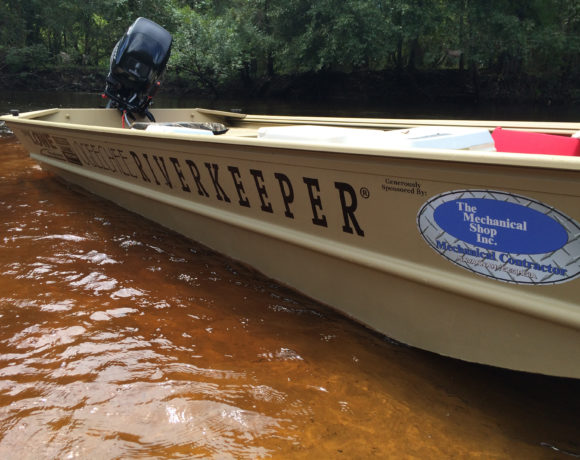 Savannah CEO | The Mechanical Shop Donates New Patrol Boat for Ogeechee Riverkeeper