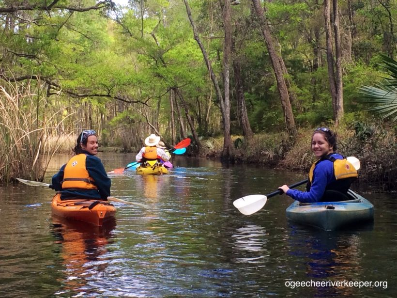 REGISTRATION NOW OPEN FOR FIRST OGEECHEE RIVERKEEPER PADDLE TRIP OF THE 2017 SEASON
